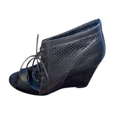 Sandales compensées Maje  pas cher