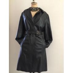 Manteau en cuir Old Ridel  pas cher