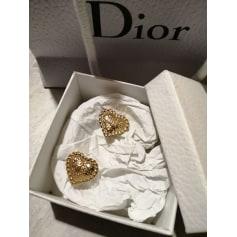Boucles d'oreille Dior Couture pas cher