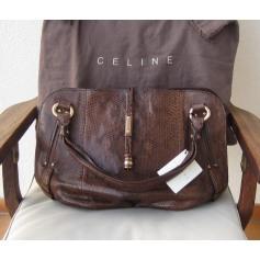 Sac à main en cuir Céline  pas cher