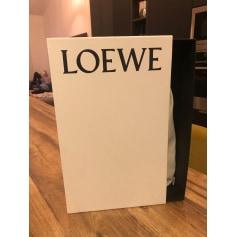 Sac en bandoulière en cuir Loewe  pas cher