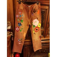 Pantalon droit misslook  pas cher