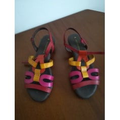 Sandales plates  Di Fontana  pas cher