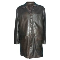 Leather Coat Serge Blanco