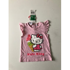 Top, tee shirt Hello Kitty  pas cher