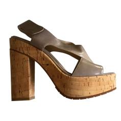 Sandales à talons Calvin Klein  pas cher