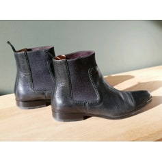 Bottines & low boots plates Heschung  pas cher