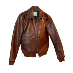 Leather Jacket Sandro