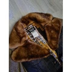 Manteau en fourrure Dolce & Gabbana  pas cher