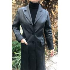 Manteau en cuir Cuiropolis  pas cher