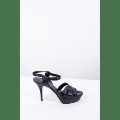 Sandales à talons Saint Laurent Tribute pas cher