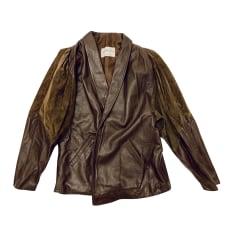 Manteau en cuir Jitrois  pas cher
