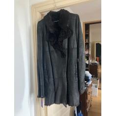 Manteau en cuir Sylvie Schimmel  pas cher