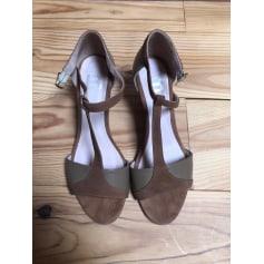 Sandales compensées Bensimon  pas cher