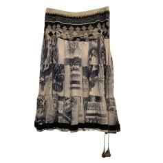 Jupe mi-longue Jean Paul Gaultier  pas cher