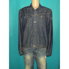 Denim Zipped Jacket Serge Blanco