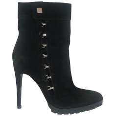 High Heel Ankle Boots Versace