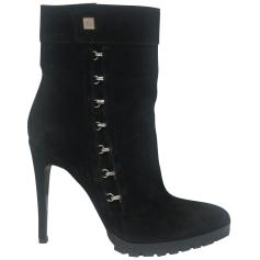 Bottines & low boots à talons Versace  pas cher