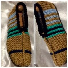 Chaussons & pantoufles Sans marque  pas cher