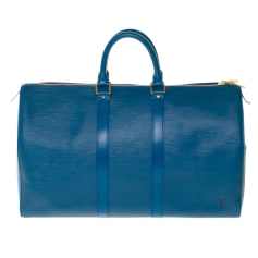 Ledertasche groß Louis Vuitton Keepall