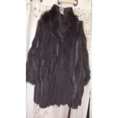 Manteau en fourrure Saga Furs  pas cher