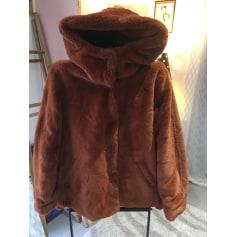Manteau en fourrure C&A  pas cher