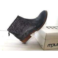 Bottines & low boots à talons Mjus  pas cher