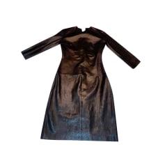 Robe mi-longue Jitrois  pas cher