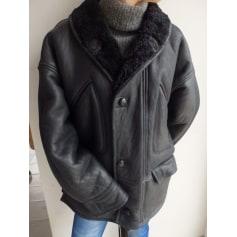 Manteau en cuir Kudsak Paris  pas cher