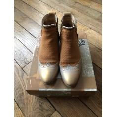 Santiags, bottines, low boots cowboy Coque Terra  pas cher
