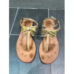 Sandales plates  Mellow Yellow  pas cher