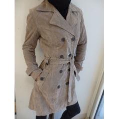 Manteau en cuir Phildar  pas cher