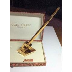 Cufflinks Gold Starry
