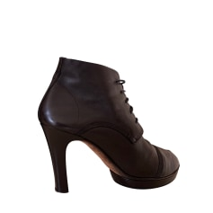 High Heel Ankle Boots Repetto