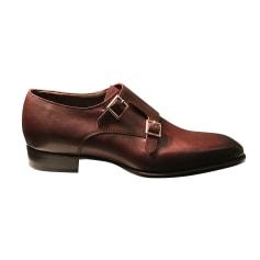 Chaussures à boucles Carlos Santos  pas cher