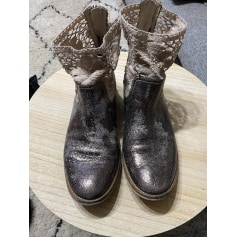 Bottines & low boots plates Peperosa  pas cher
