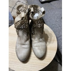 Bottines & low boots plates Strategia  pas cher
