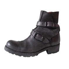Bottines & low boots plates Free Lance  pas cher