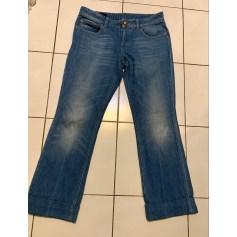 Jeans très evasé, patte d'éléphant Gucci  pas cher
