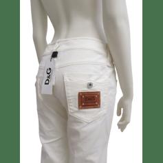 Pantalon droit D&G  pas cher