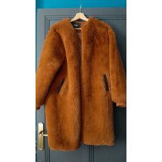 Manteau en fourrure Maje  pas cher