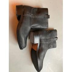 Santiags, bottines, low boots cowboy odetta  pas cher