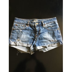 Short en jean Pull & Bear  pas cher