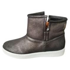 Bottines & low boots plates Santoni  pas cher