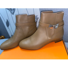 Bottines & low boots plates Hermès Jumping pas cher
