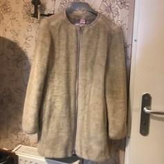 Manteau en fourrure Ikks  pas cher