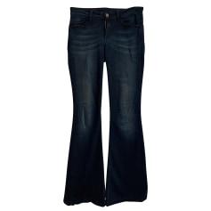 Jeans très evasé, patte d'éléphant Liu Jo  pas cher
