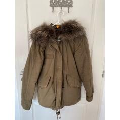 Manteau en fourrure Blonde No.8  pas cher