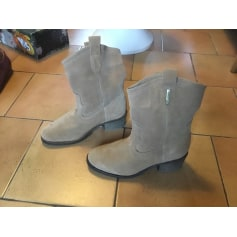 Santiags, bottines, low boots cowboy Les Tropéziennes Par M. Belarbi  pas cher