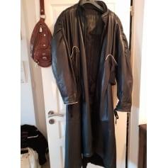 Manteau en cuir Marithé et François Girbaud  pas cher